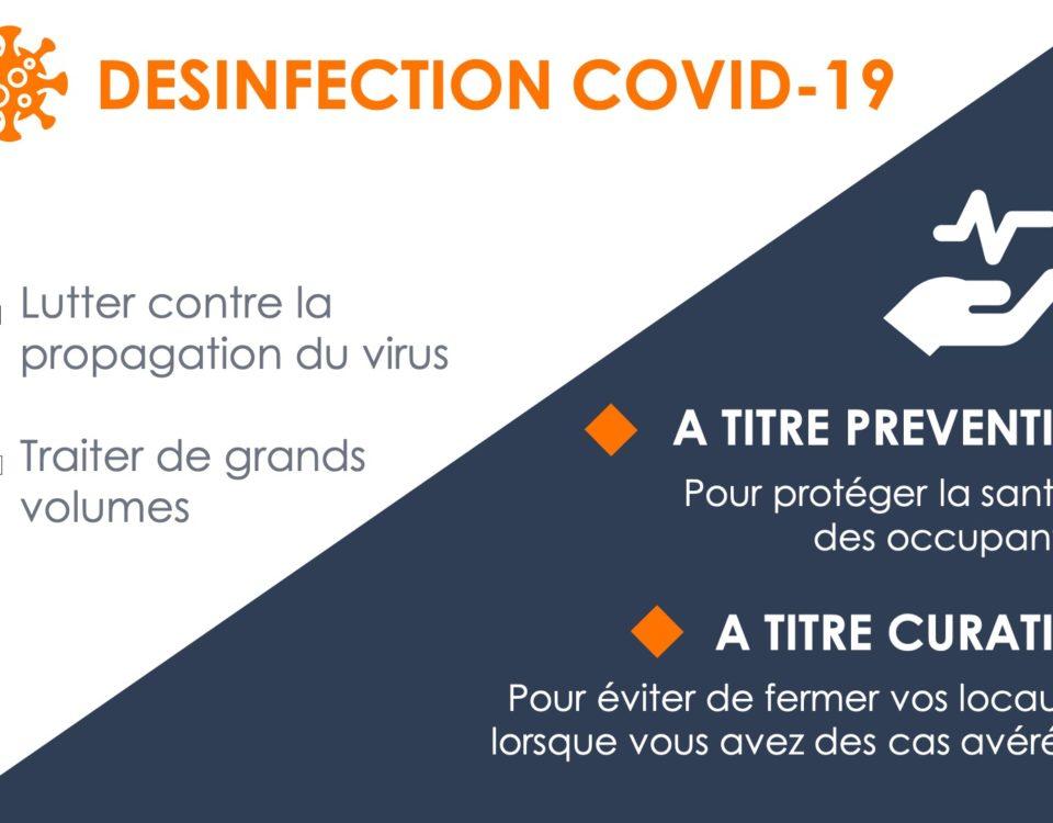 Prestations désinfection - spécial COVID-19