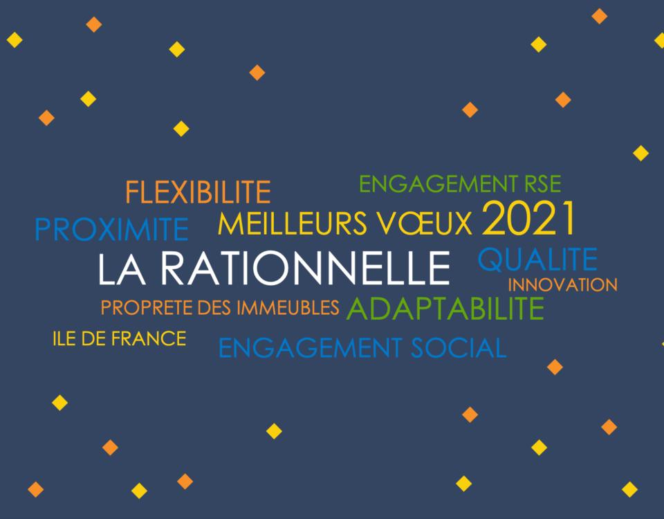 Toute l'équipe La Rationnelle vous présente ses meilleurs voeux pour 2021