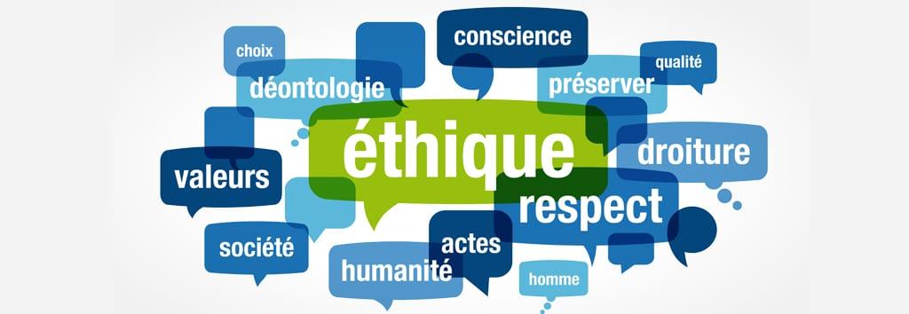 Charte éthique de La Rationnelle